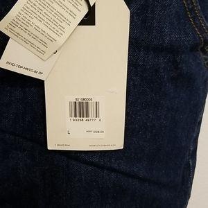 """Levi's Jeans - """"LEVIS PREMIUM"""" DENIM BAGGY OVERALLS  S. L NWT"""
